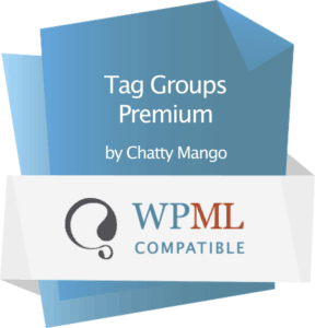Tag Groups Premium - WPML Compatibility