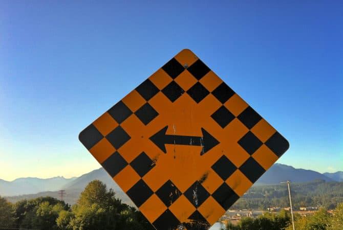 Choices - street sign