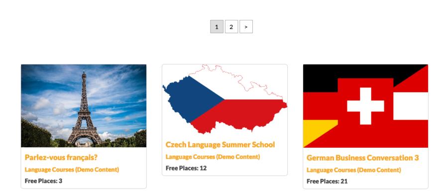 Screenshot of WordPress Post Filter Masonry Pagination - Chatty Mango Demos